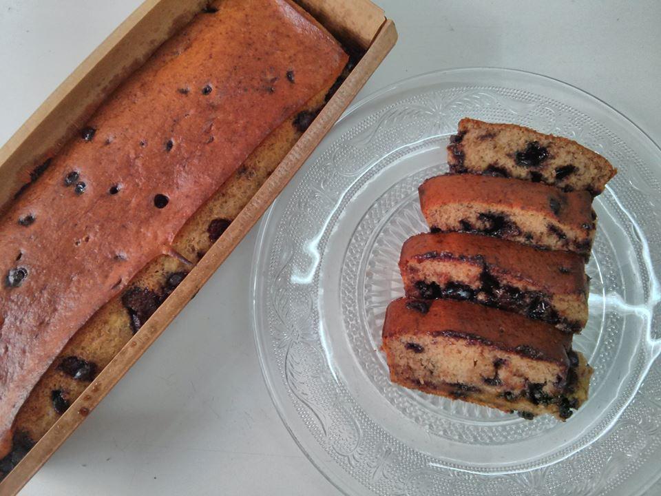עוגת בננות ושוקולד צ'יפס - מתכון משופר