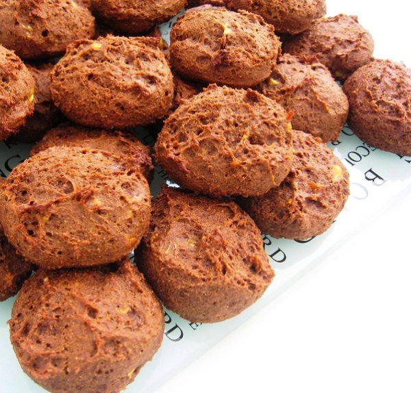 עוגיות שוקולד-בננה