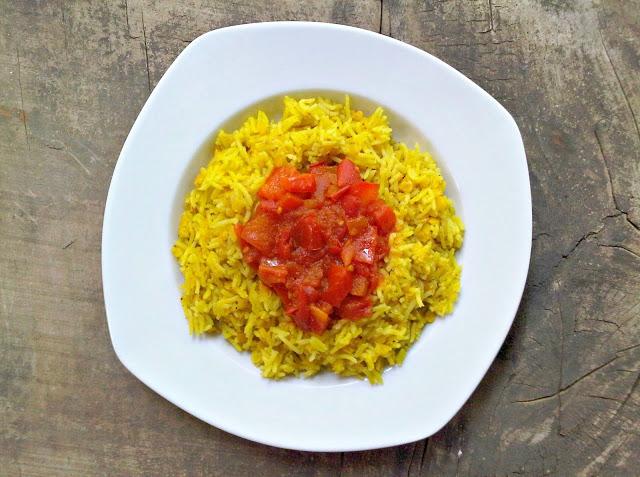 אורז צהוב עם עדשים, קיצ'רי