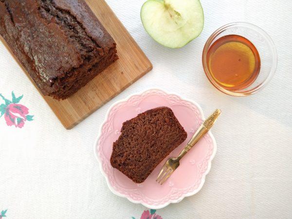 עוגת דבש טבעונית