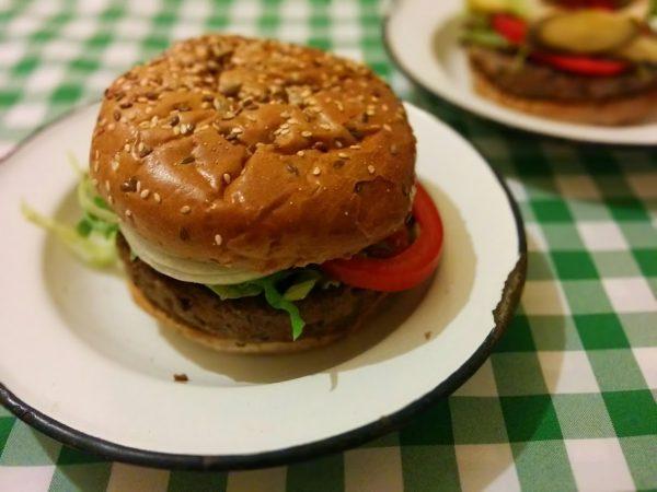 המבורגר פטריות של אגאדיר