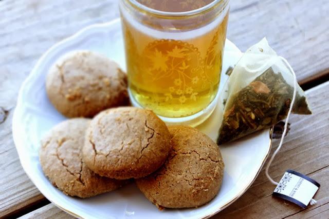 עוגיות טחינה עם קמח כוסמין