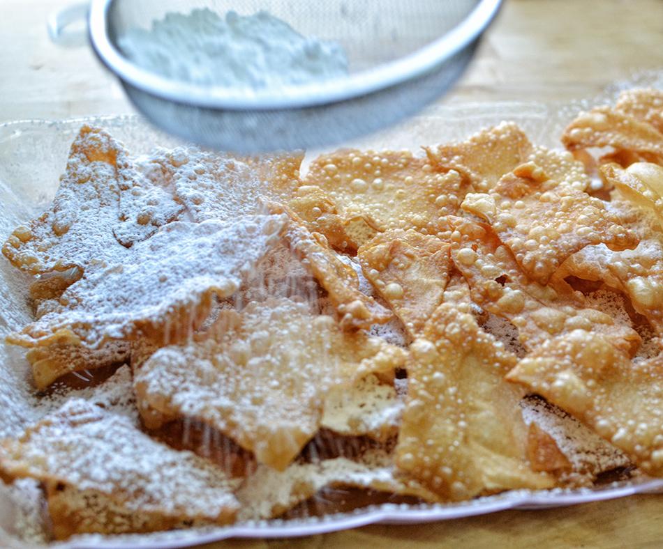 עוגיות פריכות של חנוכה