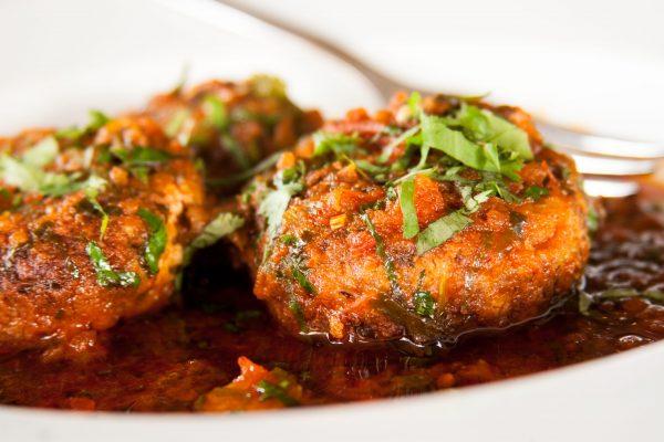 #14 חריימה של קציצות טופו של מסעדת אדורה