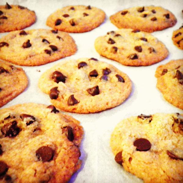 #11 עוגיות שוקולד צ'יפס טבעוניות