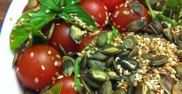 cherry-tomato-pumpkin-seeds-salad-with-fresh-basil