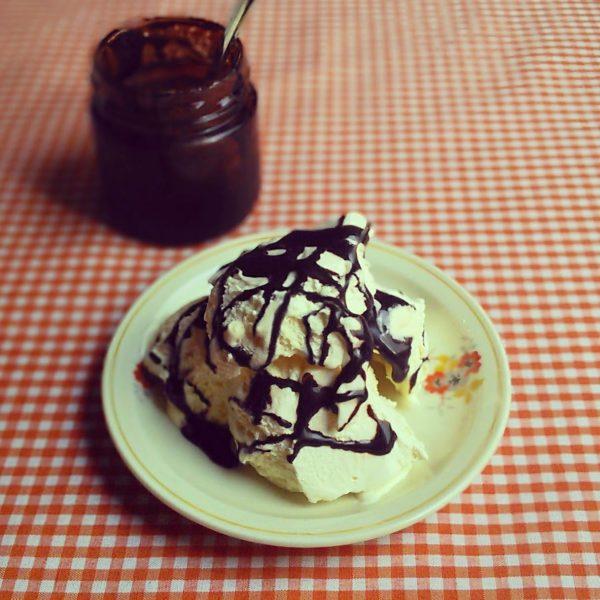 גלידת מנגו
