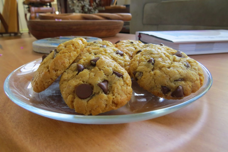 עוגיות שוקולד צ'יפס טבעוניות ללא גלוטן