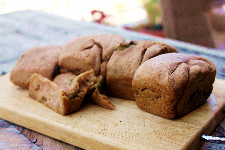 לחם כוסמין ללא שמרים