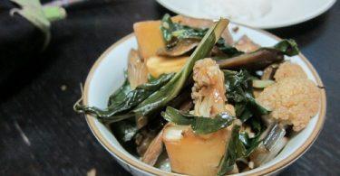 מוקפץ ירקות סיני קלאסי