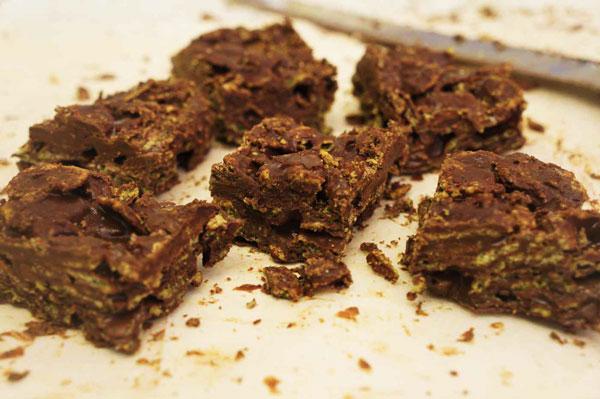 ממתק שוקולד-קורנפלקס