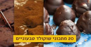 מתכוני שוקולד טבעוניים