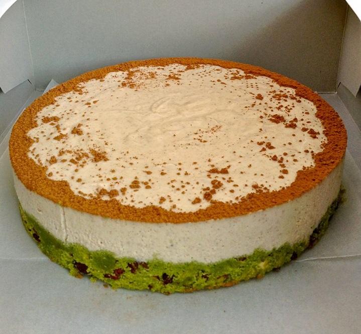 עוגת גבינה טבעונאית