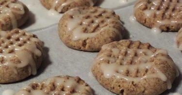 עוגיות טחינה וקפה