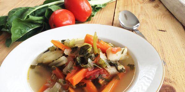 מרק ירקות צח