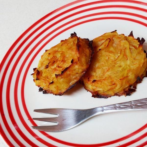 לביבות תפוחי אדמה אפויות