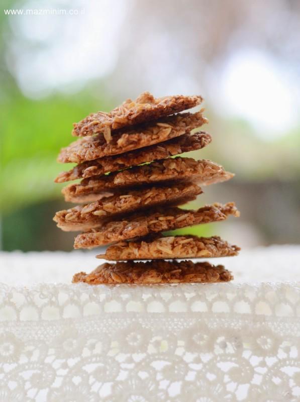 עוגיות תחרה דקיקות