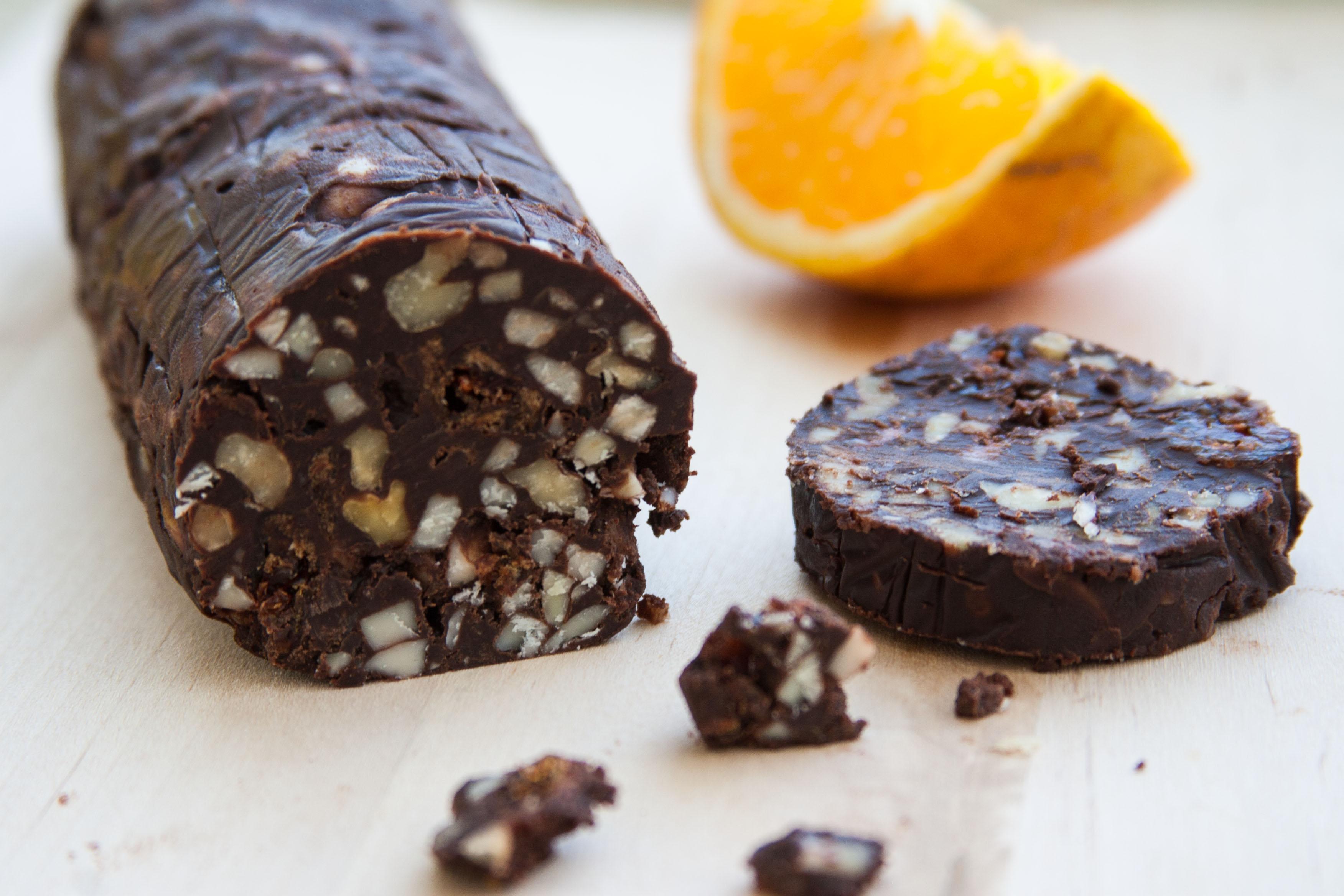 גליל שוקולד אגוזי-תפוזי