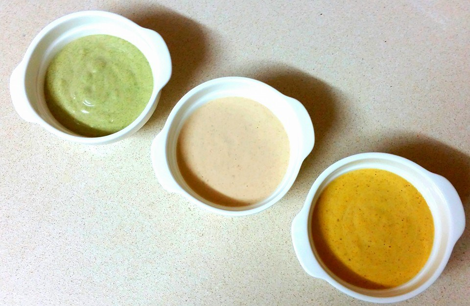 טחינה (בשלושה צבעים)