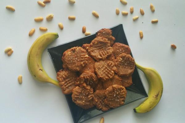 עוגיות בננה חמאת בוטנים