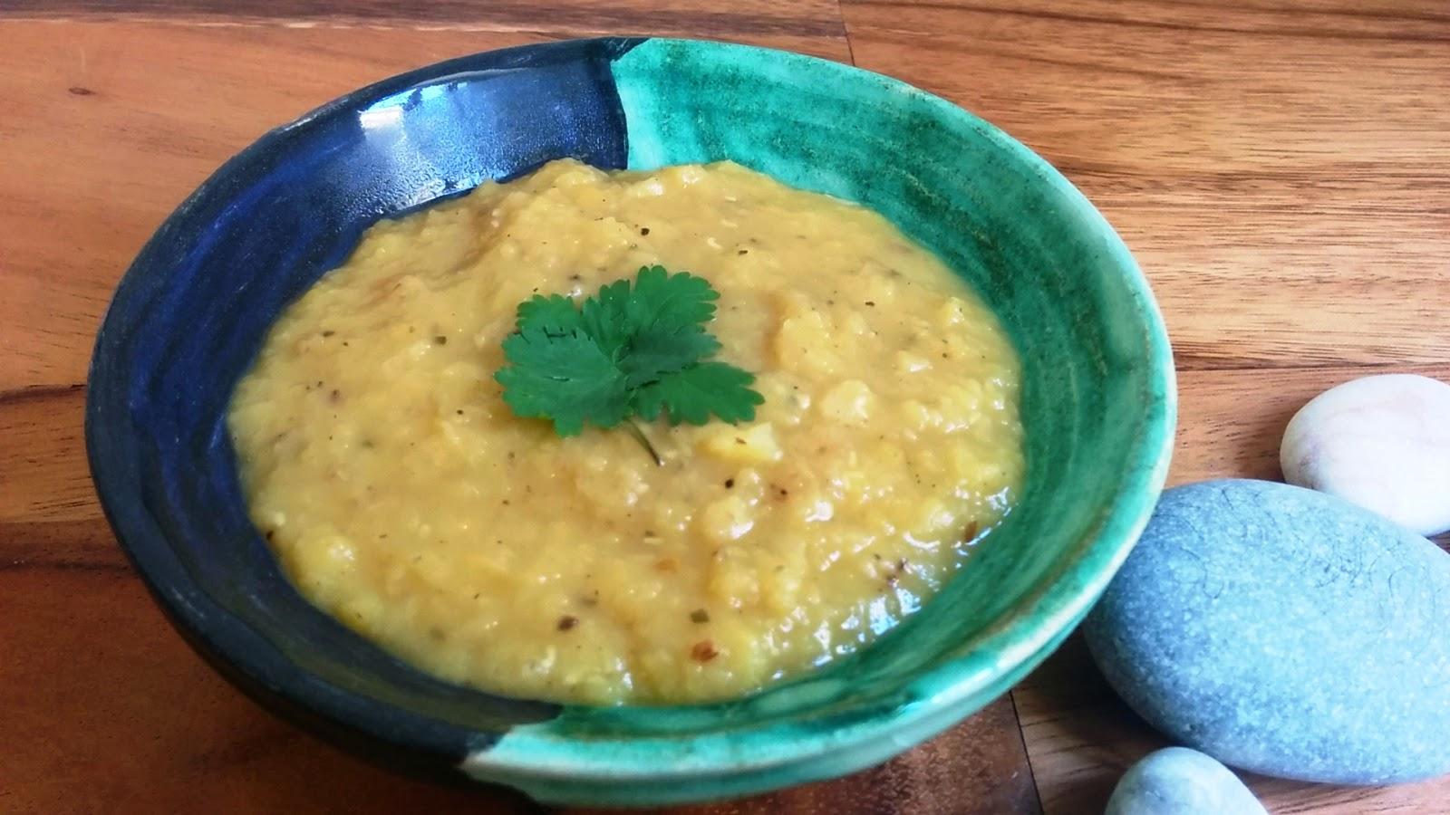 תבשיל עדשים הודי ב-10 דקות