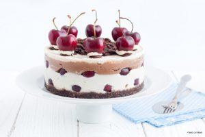 עוגת היער השחור טבעונית