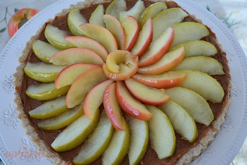 פאי תפוחים טבעוני