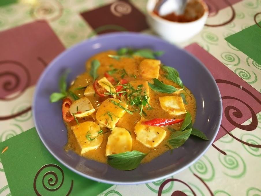 טופו בפאננג קארי תאילנדי