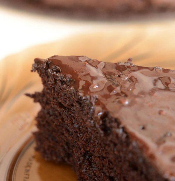 עוגת טריפל שוקולד