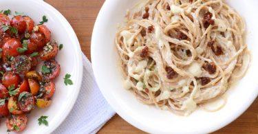 ספגטי בררוטב שמנת