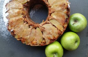 עוגת תפוחים איטלקית