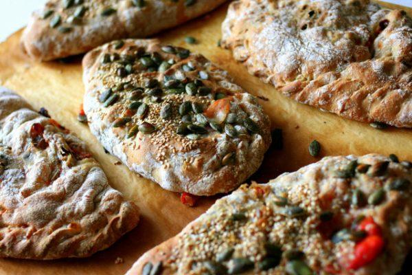סמבוסק טבעוני במילוי ירק וזעתר