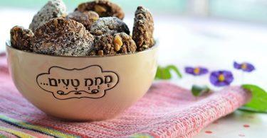 עוגיות שוקו-בננה טבעוניות