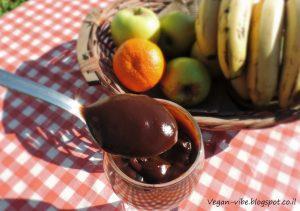 מעדן שוקולד חלב טבעוני