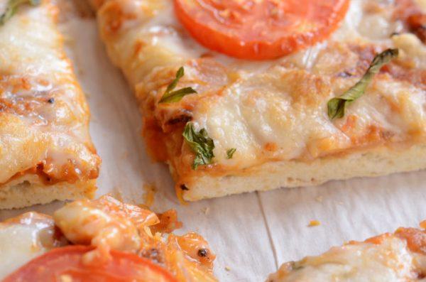 פיצה מרגריטה טבעונית
