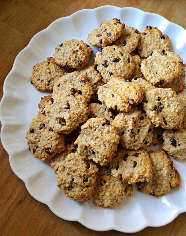 עוגיות בננה-שוקולד צ'יפס