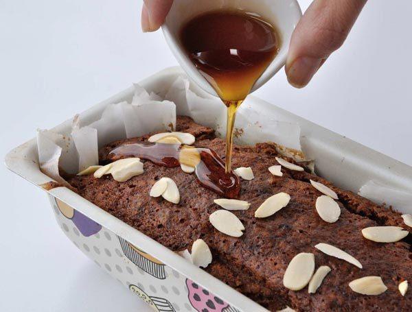 עוגת שקדים קפה מייפל