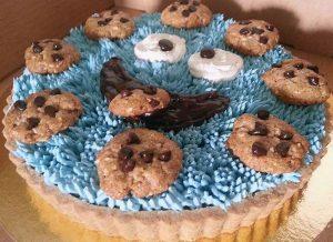 טארט עוגיפלצת טבעוני