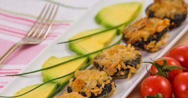 נגיסי גבינה עם אורז ואצות נורי