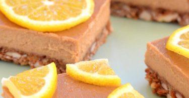 עוגת קרמל ולימון