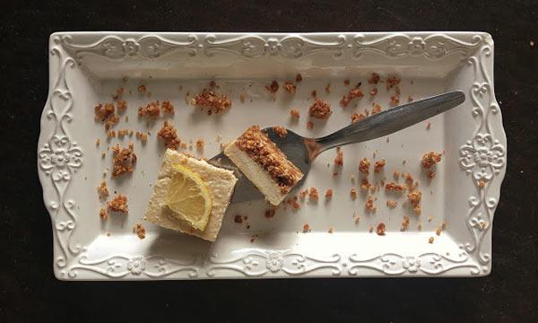 עוגת גבינה לימונית כשרה לפסח