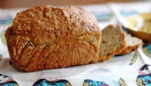 לחם ללא לישה - מהיר
