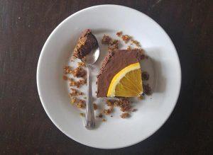 עוגת מוס שוקולד תפוז