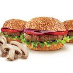 מיני המבורגר פטריות