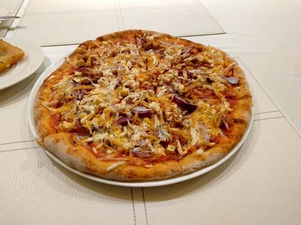 פיצה טבעונית , בודפשט