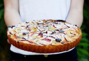 עוגת פירות קיצית
