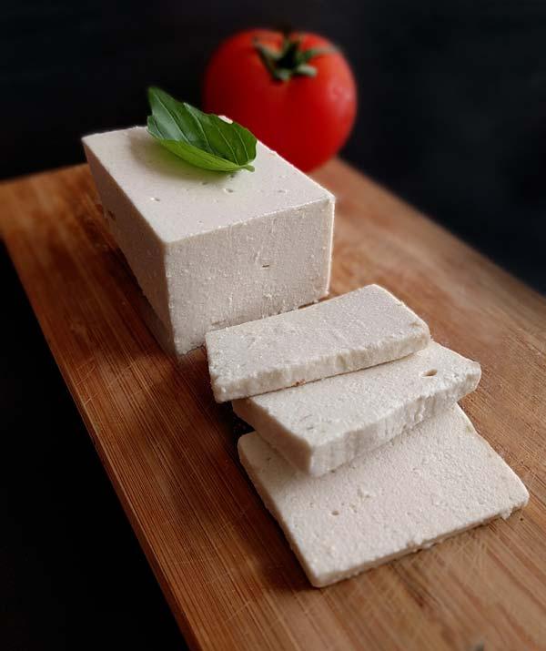 גבינת מוצרלה, ללא חלב