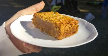 עוגת גרעיני דלעת ובננה