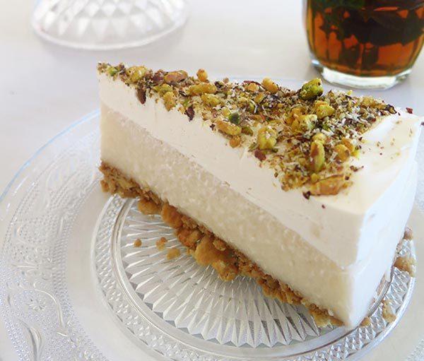"""עוגת """"לילות ביירות"""" טבעונית"""