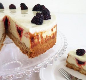עוגת גבינה ופטל (טבעוני)